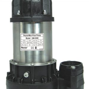 Matala Geyser Max-Flow Water Pump - GM-5300