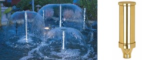 """1"""" Bell Fountain Nozzle Clearwater Lakes & Ponds"""