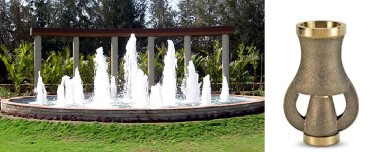 """1"""" Cascade Fountain Nozzle Clearwater Lakes & Ponds"""