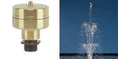 """1"""" Vulkan 19 Jet Fountain Nozzle Clearwater Lakes and Ponds"""