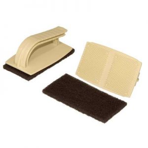 Firestone Quickscrubber Kits Tool with 3 Pads - Pond Liner Installation Tool
