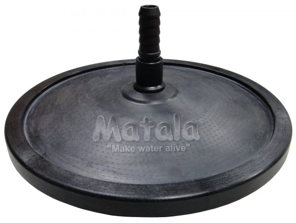 "Matala 7"" Weighted Diffuser with Hose Tail Clearwater Lakes and Ponds"