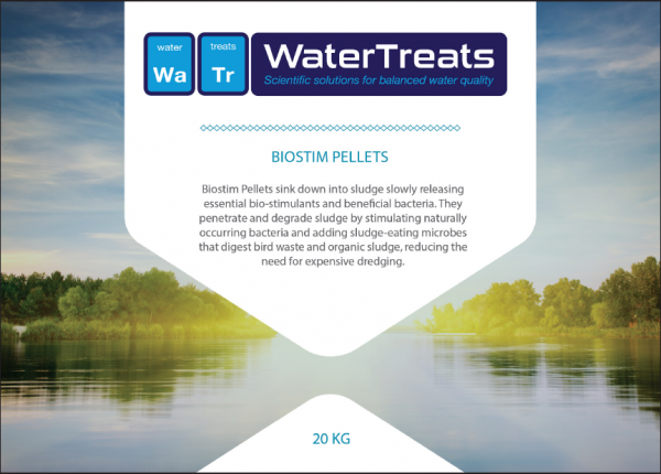 Biostim Pellets - Biological Water Treatment for degrading sludge and muck and improving overall water quality