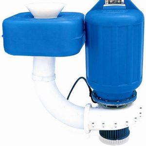 spraying aerator single phase