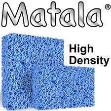 Blue high density Matala filtration media sheets