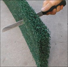 Green Matala filter media - half sheet