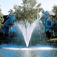 Airolator Solace Single Phase Fountain Clearwater Lakes and Ponds