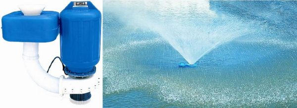 Spraying Aerator 1800w 3 Phase Clearwater Lakes and Ponds