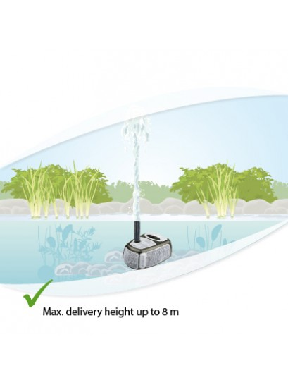 Messner Power X2 4000 Fountain/Water Feature Pond Pump Max Head