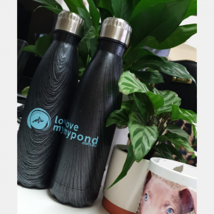 love my pond stainless steel double walled drink bottle