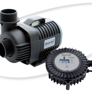 Messner e-finity p-tec fountain pump and controller