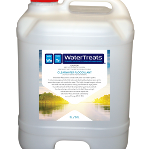 clearwater flocculant - for clearing and cleaning muddy dams