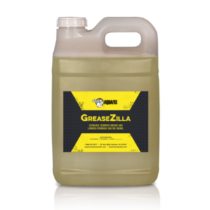 Greasezilla is a biological catalyst that cleans, softens and breaks up grease and long chain fatty acids in your wastewater treatment system.