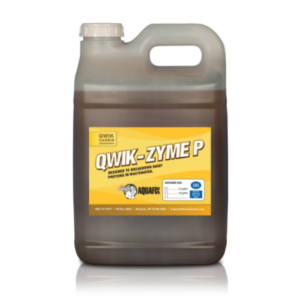 Specially designed for the dairy industry, Qwik-Zyme P fixes your wastewater issue by catalyzing and breaking down milk solids.