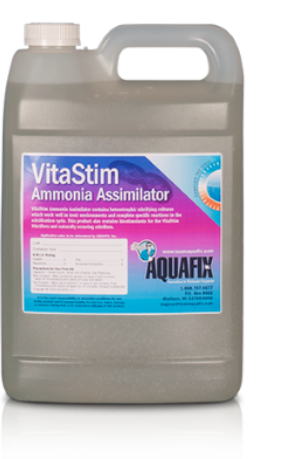 VitaStim Ammonia Assimilator assists with the effective lowering of ammonia levels in wastewater treatment lagoons and plants.